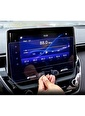 Techmaster Toyota Corolla 2019 Navigasyon Temperli Ekran Koruyucu Renkli